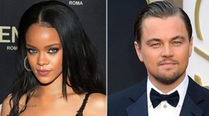 Leonardo Dan Rihanna Pacaran?
