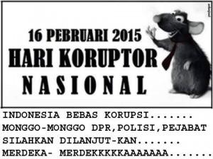 26 Februari, Hari Korupsi Nasional