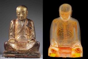 Mumi Bhikkhu Berada Di Dalam Patung Buddha Berusia 1.000 Tahun