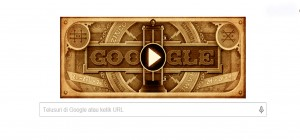Google Doodle Peringati Ulang Tahun Alessandro Volta