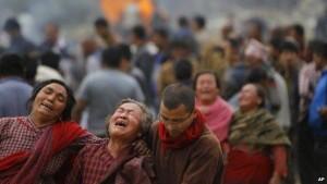 Gempa Nepal, Korban Tewas Mendekati 4.000 Orang