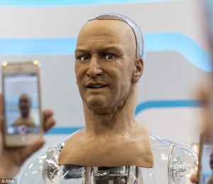 Amerika Ciptakan Robot Dengan Ekspresi Wajah