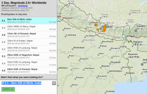 Gempa 5,1 SR Melanda India, Warga Panik