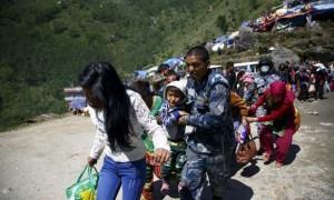Korban Selamat Gempa Nepal Menjadi Target Perdagangan Manusia