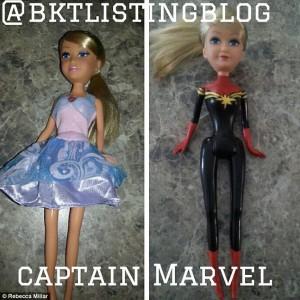 Demi Putrinya, Ibu Ini Ubah Boneka Barbie Jadi Superhero