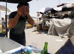 Suhu Di Iran Mencapai 74C, Terpanas Di Dunia