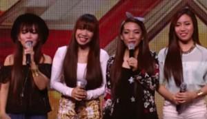 Forth Power, Girl Band Filipina Guncang Panggung X Factor