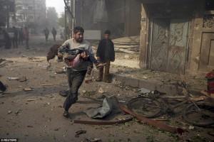 Rusia Serang Jalan Di Suriah, 23 Warga Sipil Tewas