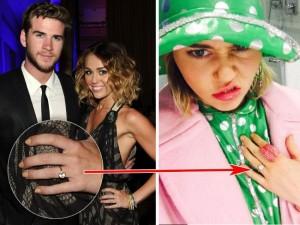 Miley Cyrus Kembali Bertunangan Dengan Liam Hemsworth?