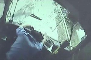 Supir Bus Heroik Tewas Demi Selamatkan Penumpang