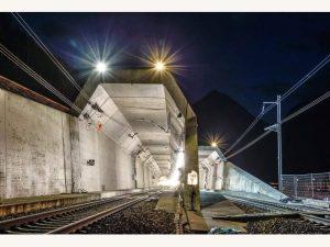 Terowongan Kereta Terpanjang Di Dunia Resmi Dibuka