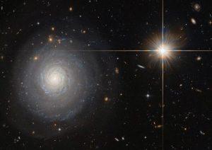 NASA Tangkap Gambar Galaksi Lahirkan Ratusan Bintang