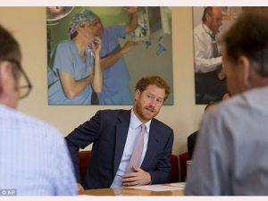Pelajari HIV, Pangeran Harry Kunjungi King College Hospital