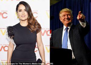 Salma Hayek Mengaku Berkali-kali Diajak Kencan Oleh Donald Trump