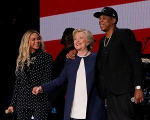 Hillary Clinton Gelar Kampanye Bersama Beyonce Dan Jay Z