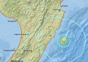 Gempa 5,6 SR Guncang Selandia Baru