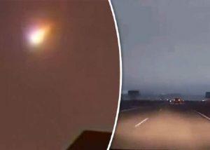 Meteor Meledak Di Siberia, Mengubah Malam Menjadi Siang