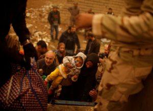 Perang Besar Melawan ISIS, Warga Mosul Kehabisan Air Dan Makanan