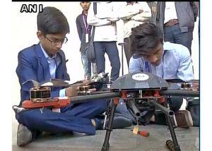 Ciptakan Drone Anti Ranjau, Remaja Ini Tandatangani Kontrak Dengan Pemerintah India