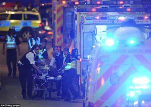 Teror London, Penyerang Teriak 'This is for Allah!'