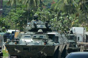 300 Militan ISIS Menyerbu Sebuah Sekolah Di Filipina