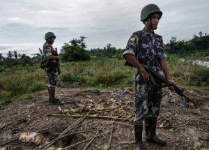 Teroris Bengali Serang Pos Polisi Myanmar, 32 Orang Tewas