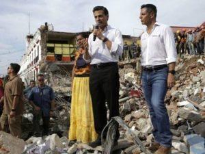 Gempa Dahsyat Di Meksiko, Sedikitnya 61 Orang Tewas