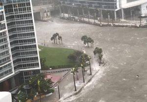 Diterjang Badai Irma, Miami Terlihat Seperti Lautan