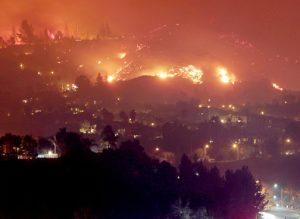 Kebakaran Besar Hanguskan 1.700 Hektar Lahan Di California