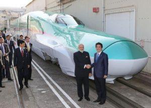 Jepang Danai Proyek Kereta Peluru India