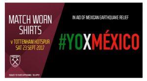 Bantu Korban Gempa Meksiko, Klub Liga Primer Inggris Lelang Kaos