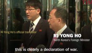 Korea Utara Mengatakan Ancaman Terbaru Trump adalah Deklarasi Perang