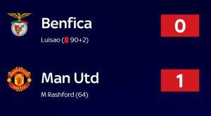 Manchester United Berhasil Kalahkan Benfica Berkat Kesalahan Mile Svilar