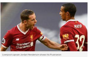 Kalah Dari Tottenham, Liverpool Dianggap Sebagai Tim Yang Menyedihkan