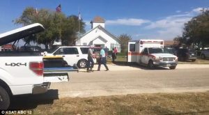 Penembakan Di Gereja Texas, Kurang Lebih 27 Orang Terbunuh Di Dalam Gereja