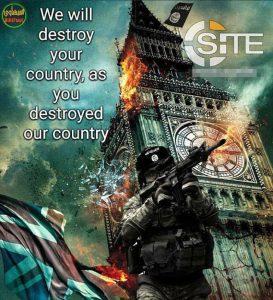 ISIS Ancam London Lewat Poster Propaganda