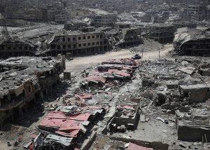 Seperempat Warga Mosul Tewas Dalam Serangan Udara