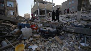 Gempa Di Iran Dan Irak, Korban Tewas Menjadi 328 Orang
