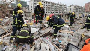 Ledakan Besar Di Pelabuhan China, Sedikitnya 2 Orang Tewas