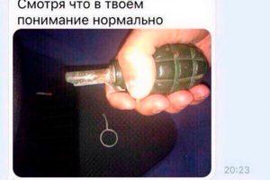 Pria Rusia Tewas Setelah Berpose Dengan Granat