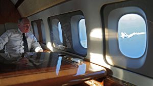 Pengawalan Ketat Jet Tempur Saat Putin Kunjungi Suriah