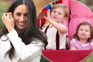 Pangeran George Dan Putri Charlotte Akan Jadi Pengiring Meghan Markle