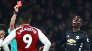 Pogba Tidak Akan Bermain Saat Manchester United Melawan Manchester City