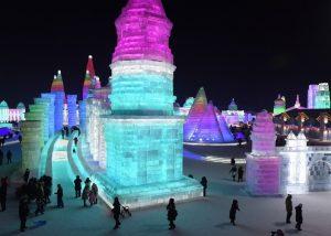 China Gelar Festival Es Terbesar Di Dunia