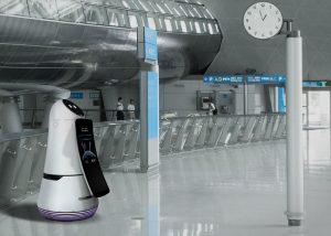 LG Perkenalkan Robot Pengganti Pekerja Supermarket, Hotel Dan Bandara