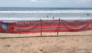 Pantai Dipenuhi Sampah, Bali Minta Maaf
