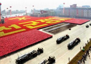 Sambut Olimpiade Musim Dingin, Korea Utara Gelar Parade Militer