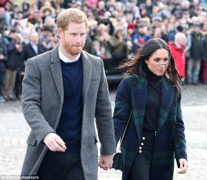Pangeran Harry Dan Tunangannya Menerima Surat Teror Antraks