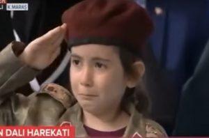 Jika Anda Mati Syahid, Kami Akan Menghormati Anda Ucap Erdogan Pada Gadis 4 Tahun