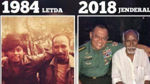 Kisah Di Balik Beredarnya Foto Lawas Jenderal TNI Gatot Nurmantyo